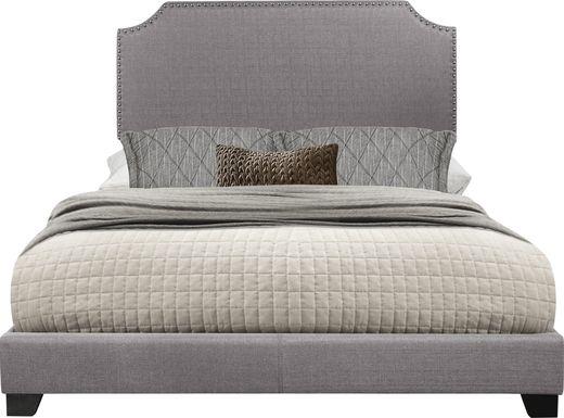 Carshalton Gray Full Upholstered Bed