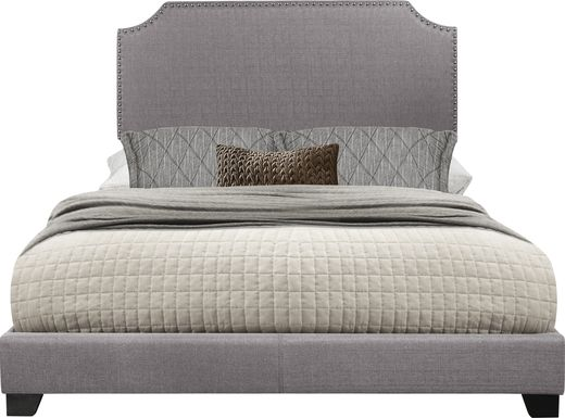 Carshalton Gray Full Upholstered Bed