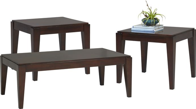Cassara Cherry 3 Pc Table Set