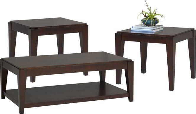 Cassara Cherry 3 Pc Table Set