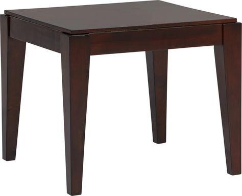 Cassara Cherry End Table