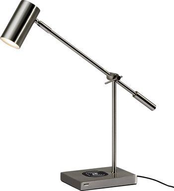 Castelar Gray Table Lamp