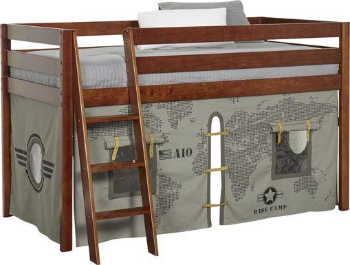 Castello Cherry Twin Jr. Loft Bed