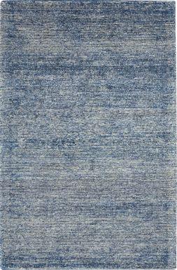 Castin Blue 9'6 x 13' Rug