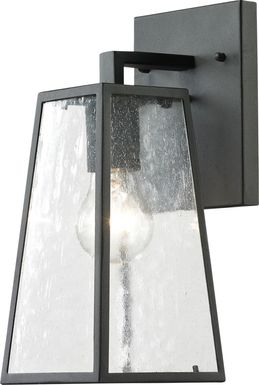 Castlereagh Black Small Outdoor Wall Sconce