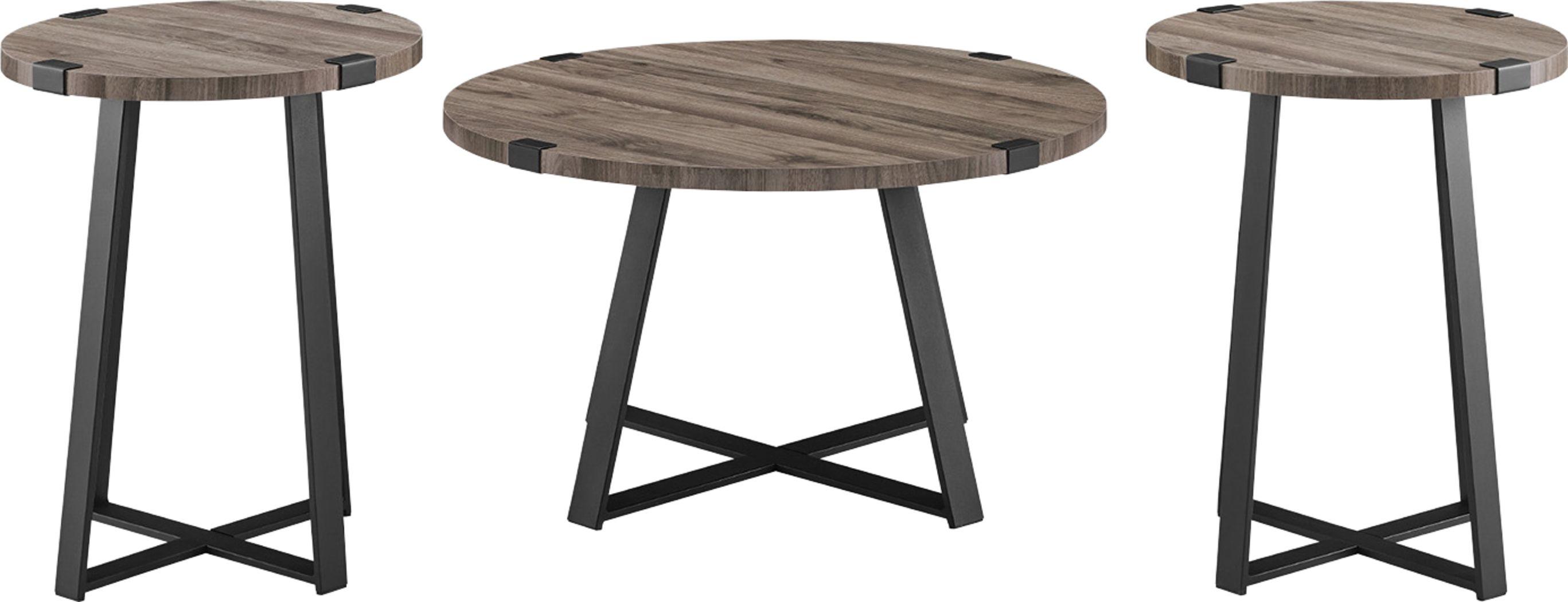 Castletroy Slate Cocktail Table Set