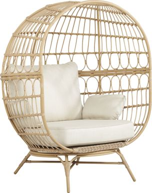 Catalina Natural Egg Chair