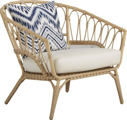 Catalina Natural Outdoor Club Chair
