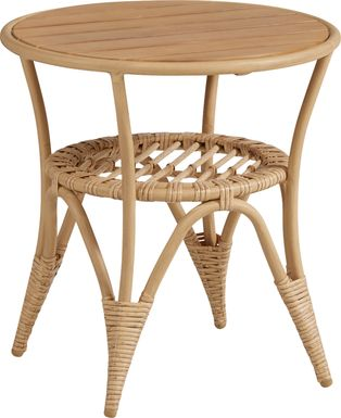 Catalina Natural Outdoor End Table