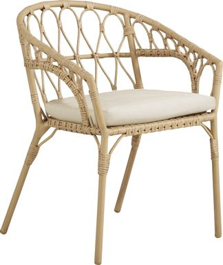 Catalina Natural Outdoor Arm Chair