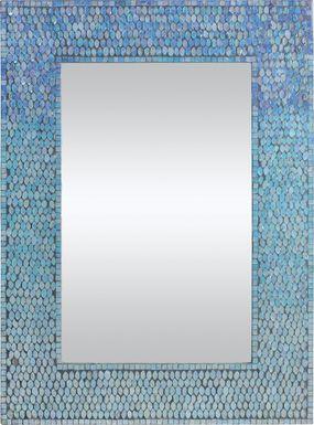 Catarina Blue Mirror