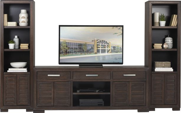 Cates Ridge Tobacco 3 Pc Wall Unit