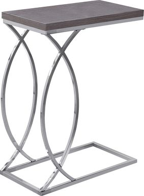 Cauley Charcoal Accent Table
