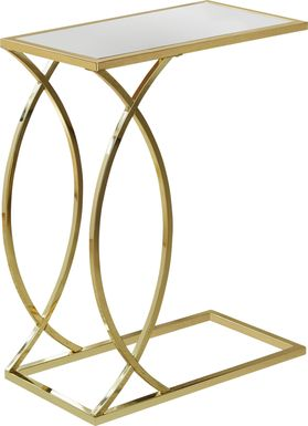 Cauley Gold Accent Table