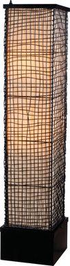 Cavea Brown Outdoor Floor Lamp
