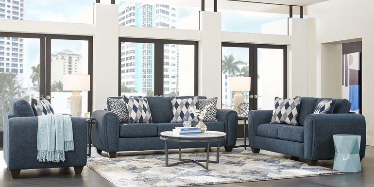 Caylor Falls Denim 5 Pc Living Room