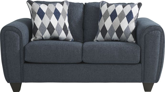 Caylor Falls Denim Loveseat