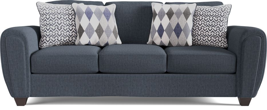 Caylor Falls Denim Sofa