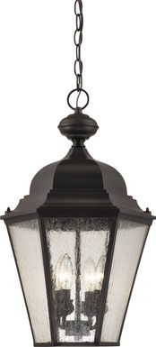Cecilside Brown Outdoor Chandelier