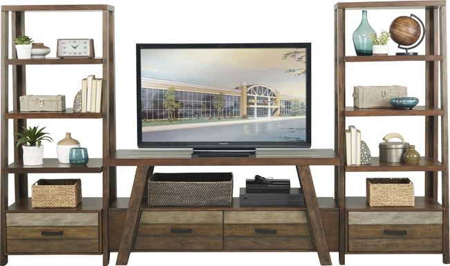 Cedar Creek Brown 5 Pc Wall Unit
