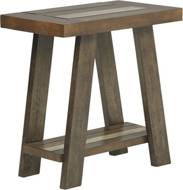 Cedar Creek Brown Chairside Table