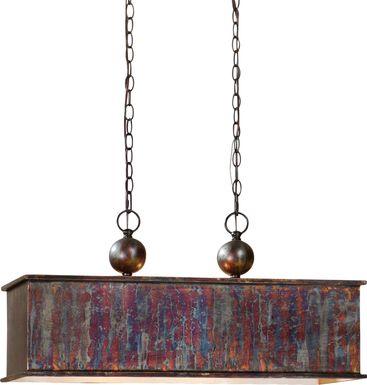 Cedar Pine Bronze Pendant