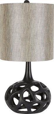 Celestia Black Table Lamp