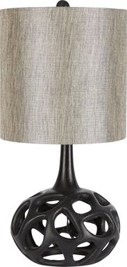 Celestia Black Table Lamp