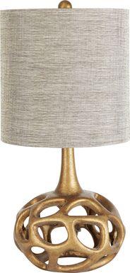 Celestia Gold Table Lamp