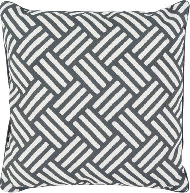 Celisa Black Indoor/Outdoor Accent Pillow