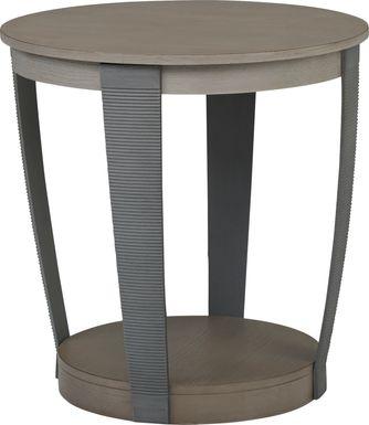 Centerville Gray End Table