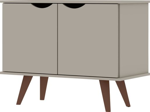 Cerone Beige Accent Cabinet