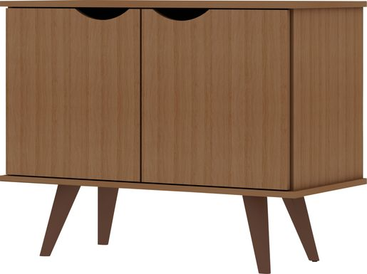 Cerone Red Accent Cabinet