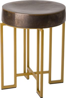 Chadbrook Brown Accent Table