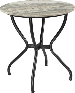 Chalfont Silver Accent Table