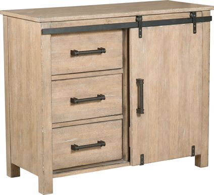 Challock Beige Accent Cabinet