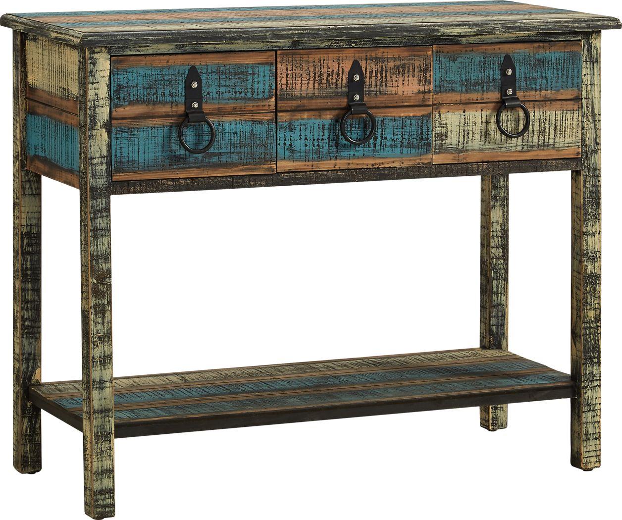 Chantrea Brown Sofa Table