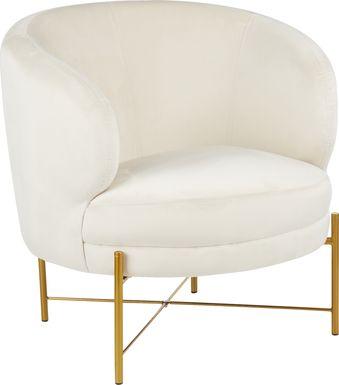 Chardan Cream Accent Chair