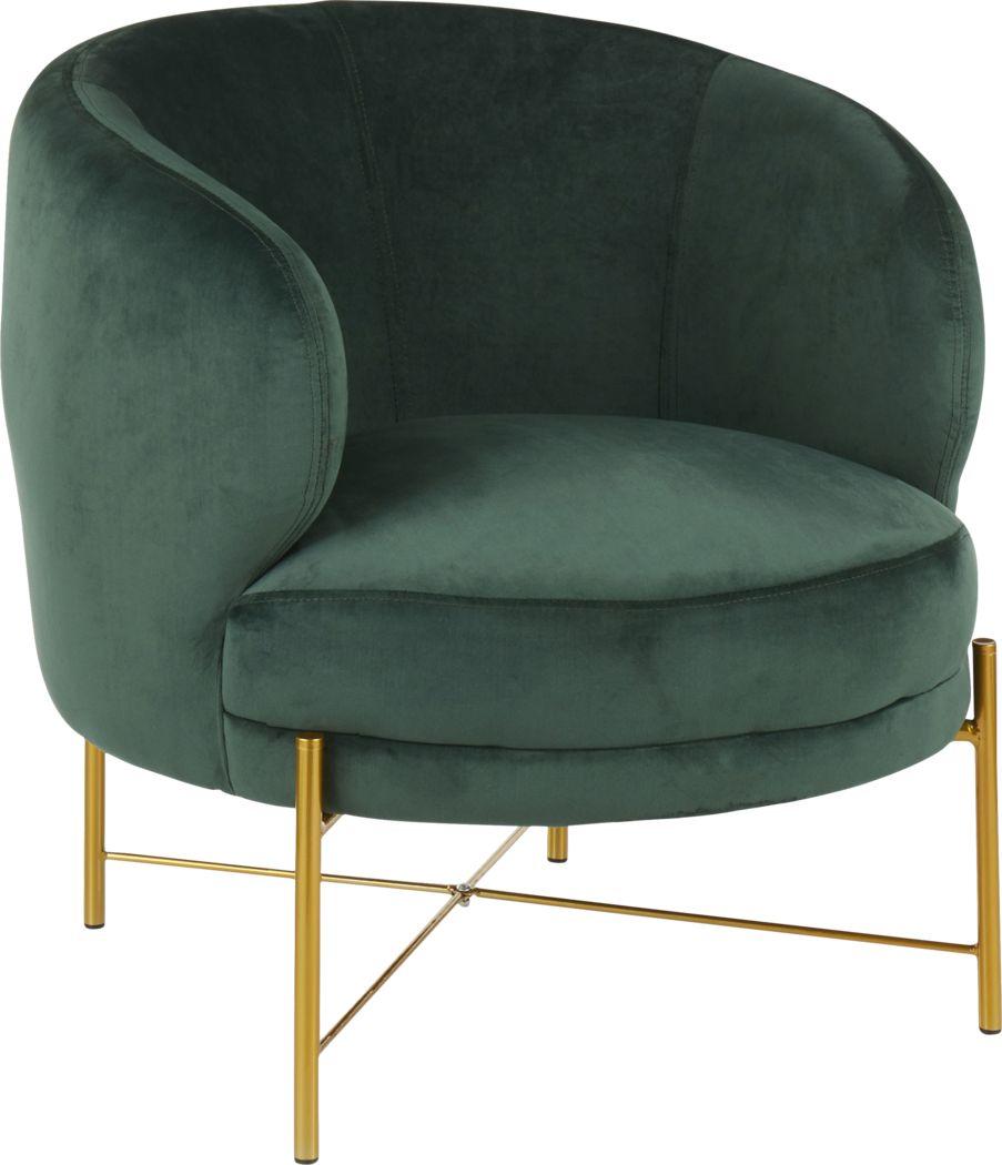 Chardan Green Accent Chair