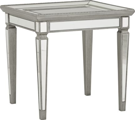 Charlaine Silver End Table