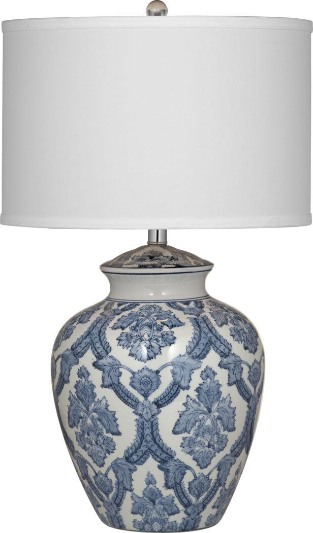 Charles Court Blue Lamp