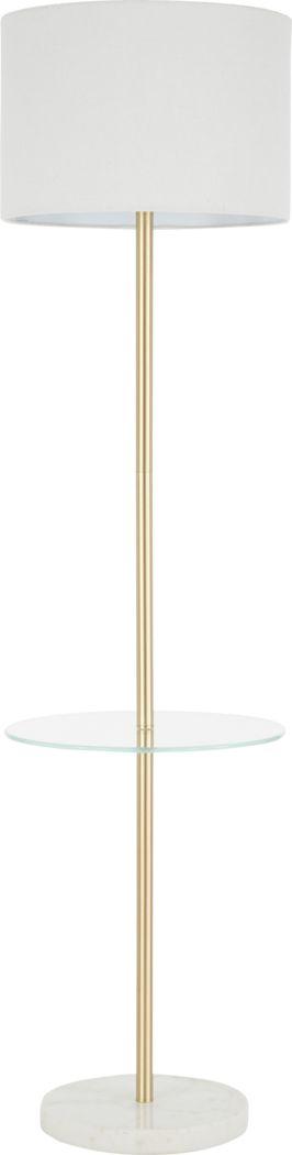 Charlmark Gold Floor Lamp