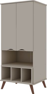 Charlo Beige Accent Cabinet