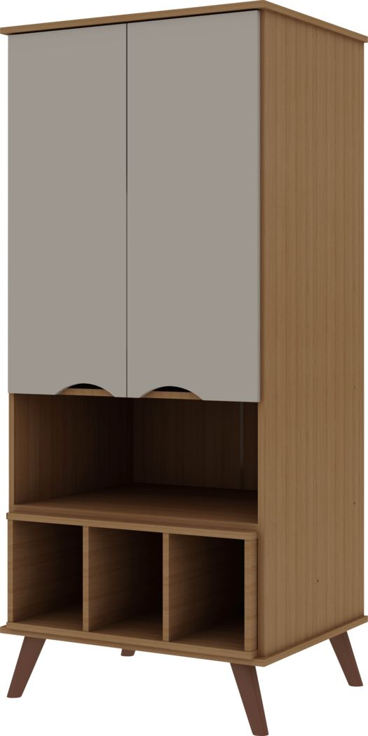 Charlo Maple Accent Cabinet