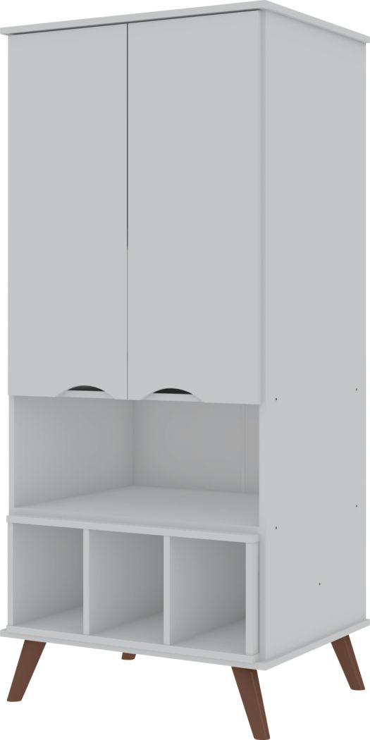 Charlo White Accent Cabinet