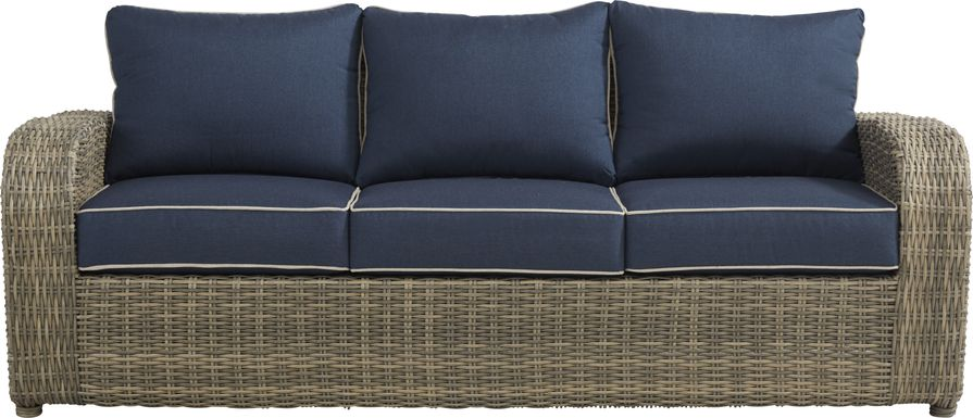 Charlotte Harbor Gray Outdoor Sofa