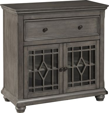 Charnwick Gray Accent Cabinet