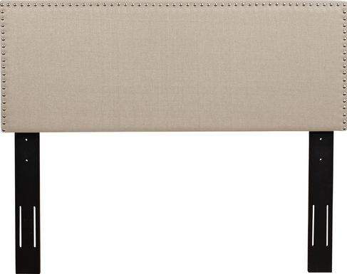 Charnwood Beige Full/Queen Upholstered Headboard