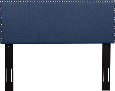 Charnwood Blue Twin Upholstered Headboard