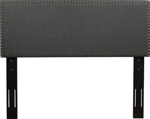 Charnwood Dark Gray Twin Upholstered Headboard